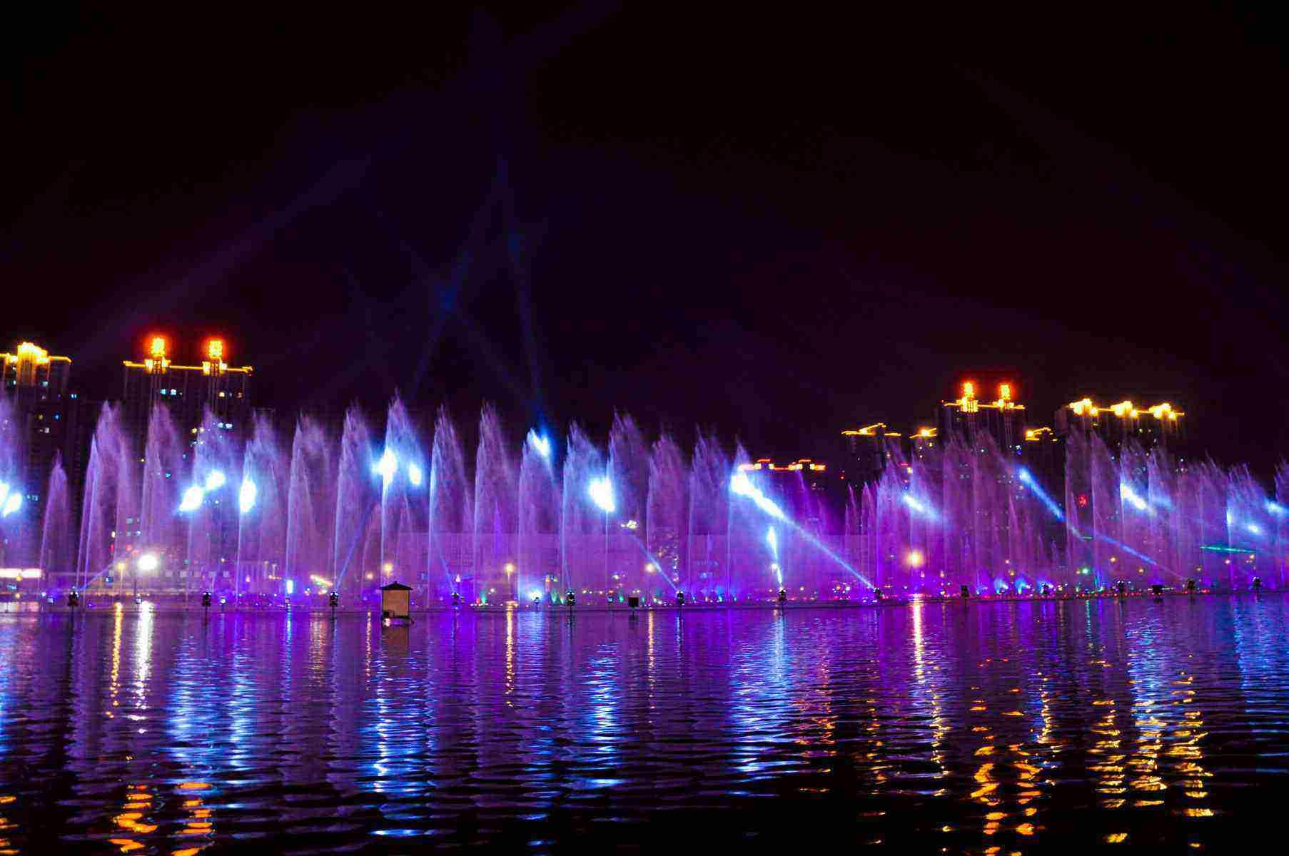 重庆音乐喷泉安装