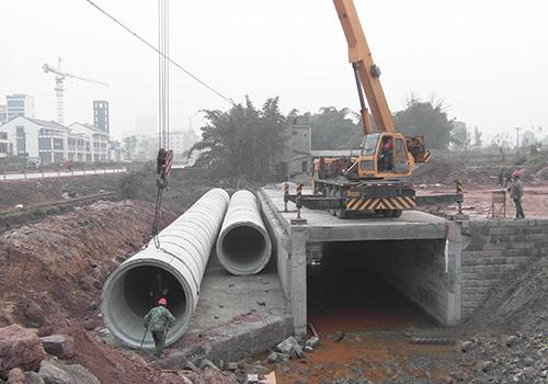 重庆西站排水工程混凝土水管供应