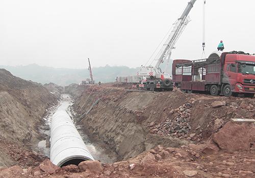 綦江区北渡铝产业园排污水工程