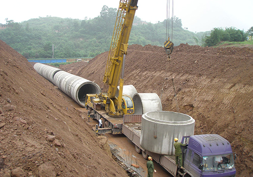 重庆对外建筑公司排水设施项目