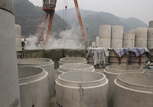 重庆混凝土水管蒸汽养护
