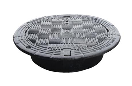 球墨铸铁圆形井盖