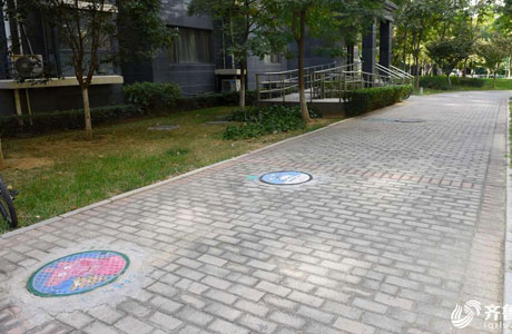 社区街道球墨铸铁井盖