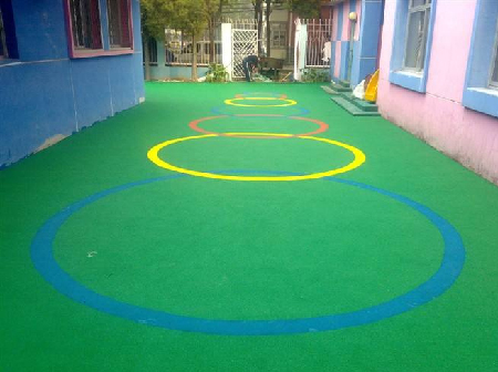 重庆环保塑胶地坪