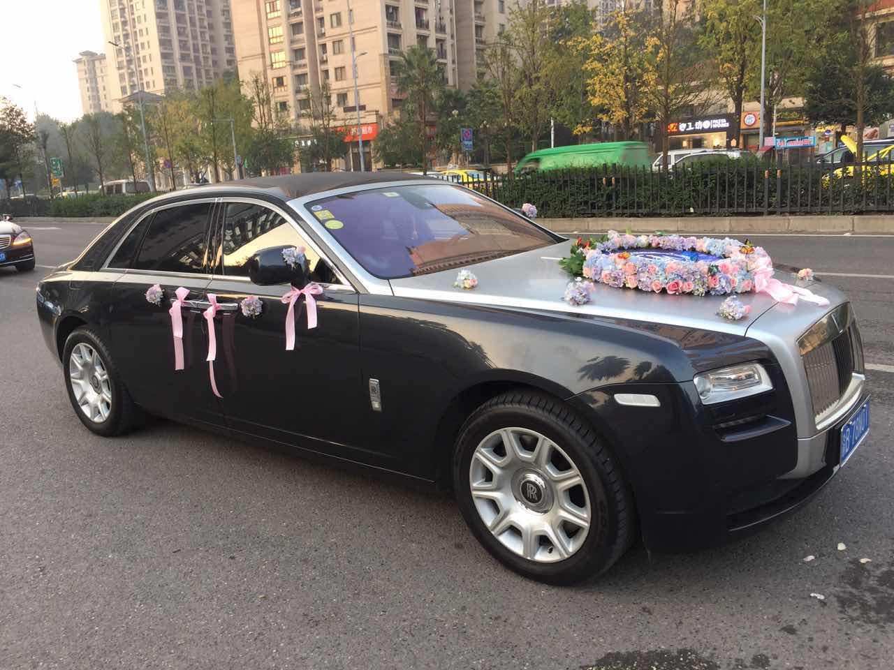 劳斯莱斯婚车