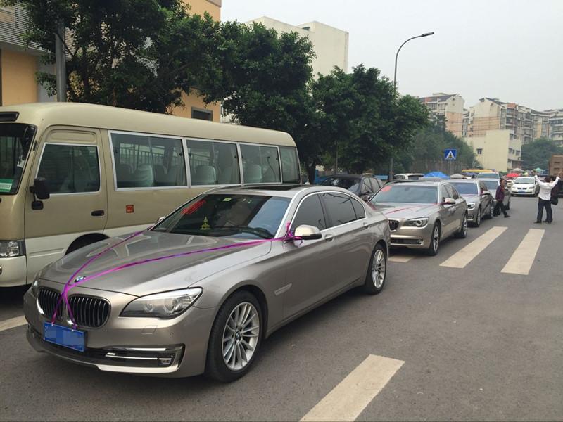 重庆宝马7系婚车租赁