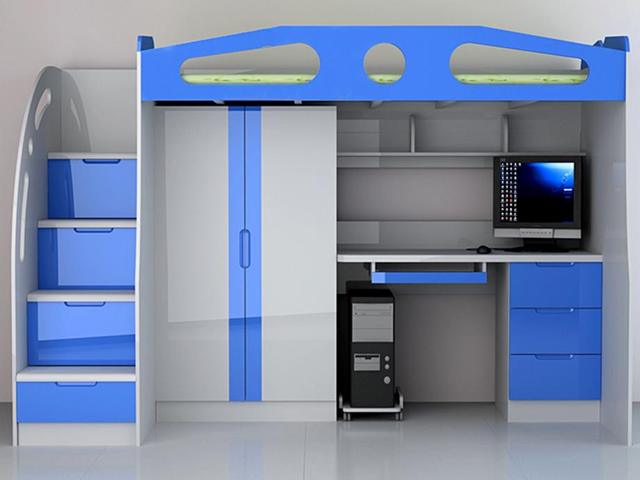儿童家具定制820组合床