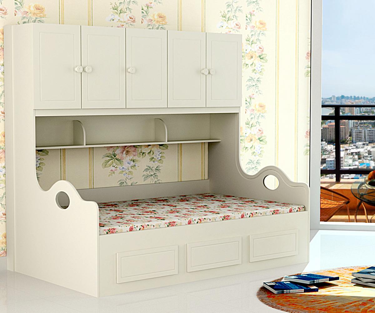 韩式床带柜