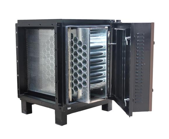 低控排放油烟净化器