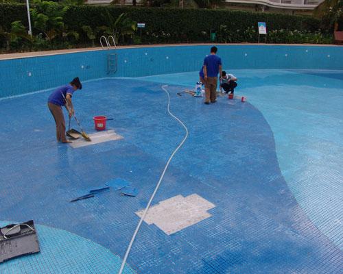 重庆游泳池清洗