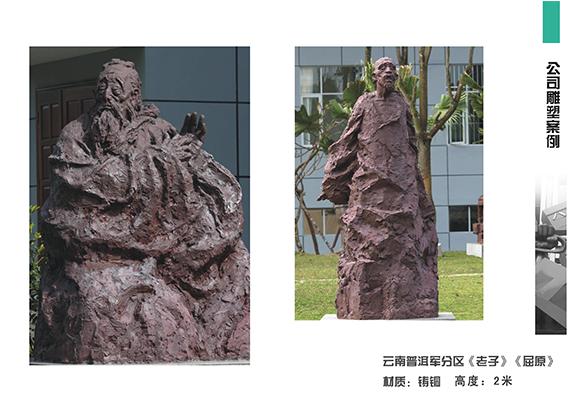 对铸铜雕塑进行保养主要从以下几个方面着手
