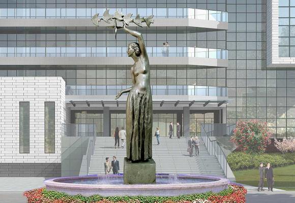 重庆不锈钢人物雕塑