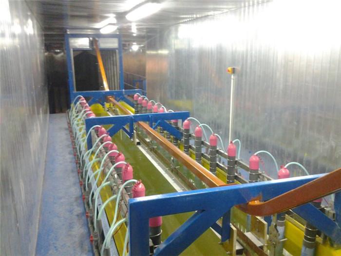 静电喷涂设备的喷涂间的工艺流程