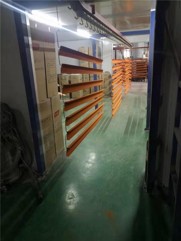 喷粉设备厂区