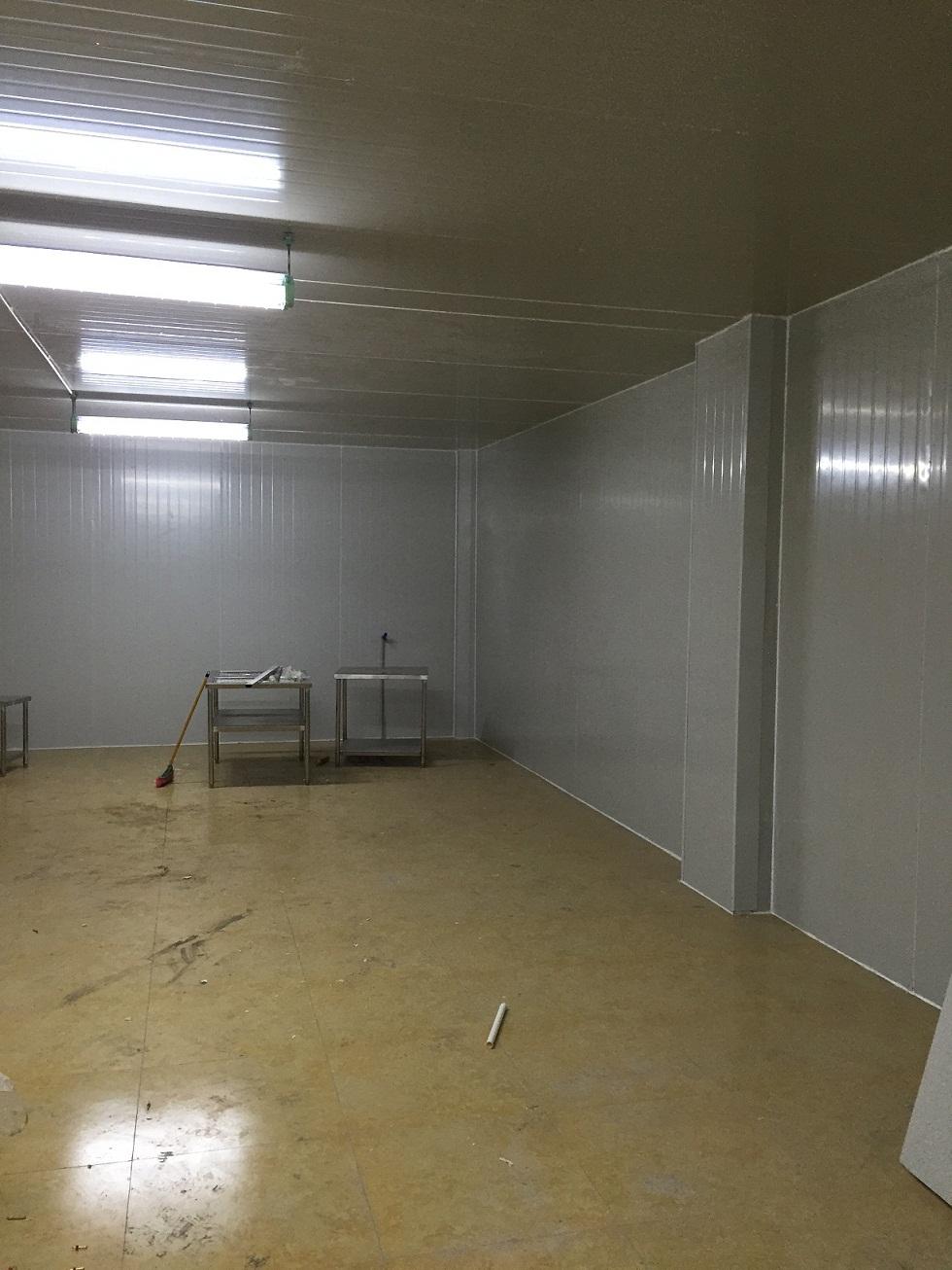 重庆中基进出口贸易公司冷冻库安装