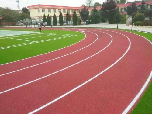 重庆混合型塑胶跑道施工
