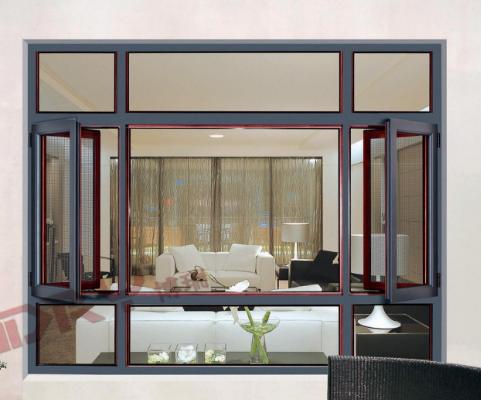 常见铝合金门窗安装施工