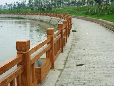重庆ZS-M-1仿木栏杆