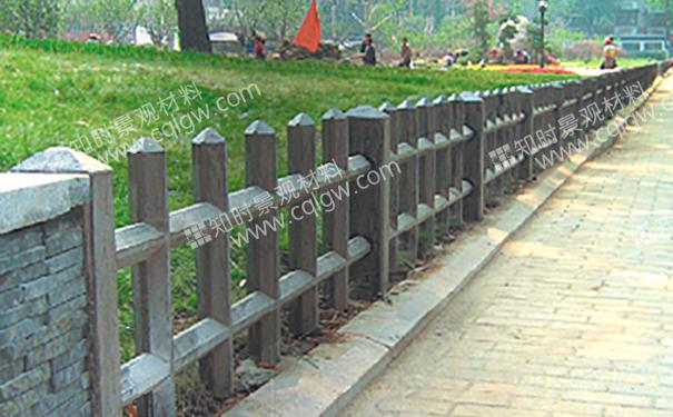 仿木栅栏栏杆