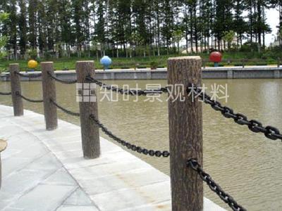 仿树皮栏杆系列