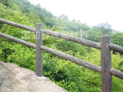 水泥仿木栏杆设计