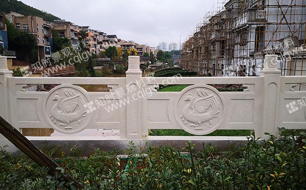 铸造石栏杆价格