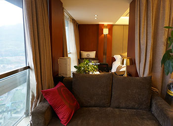 客房酒店沙發套展示