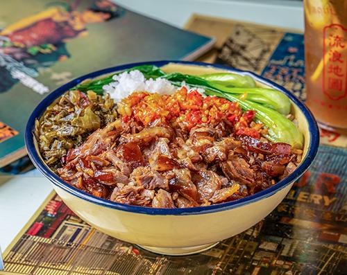 流浪地图卤肉饭赢得消费者的好评