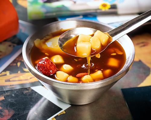 红糖醪糟咔咔热汤圆
