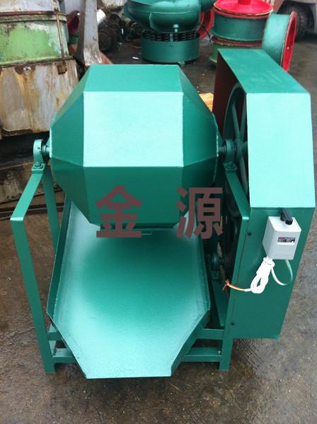 120升橄榄形滚筒研磨机