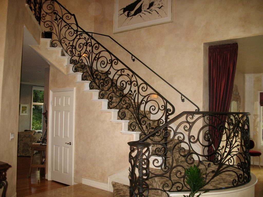 現代家裝設計中的鐵藝