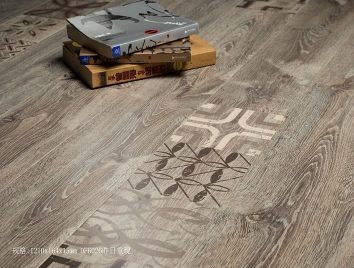 艺术实木地板DF6026昨日重现