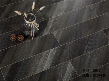 多层实木复合地板-D2002黑色瑰宝