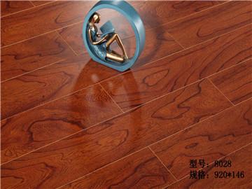 多层实木复合地板-D2001胡桃音色