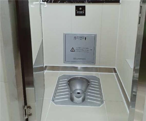 智能环保真空厕所