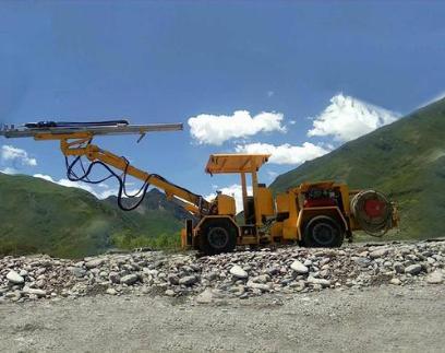 岩凿台车的性能