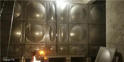 室内不锈钢水箱安装