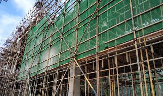 房屋改造钢管架搭建