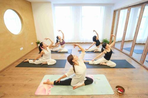 重庆瑜伽教练培训送钱送课程