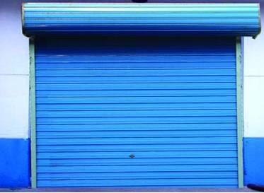 彩钢卷帘门