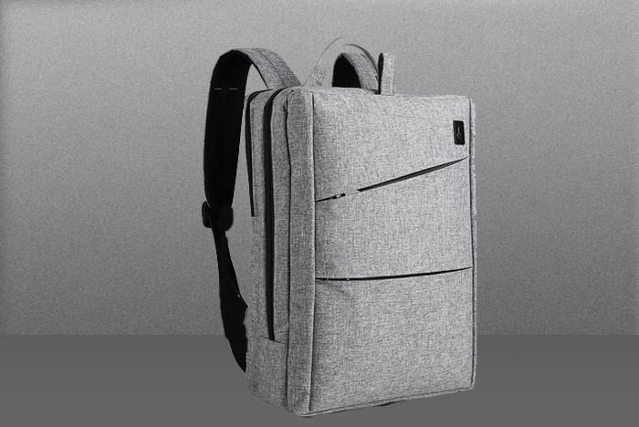 灰色电脑包