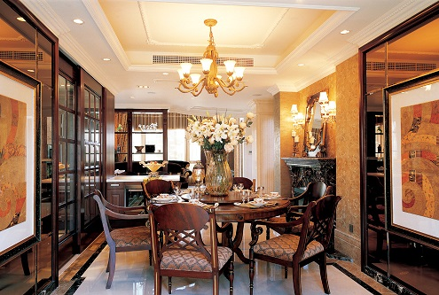 別墅裝修設計-復古風格