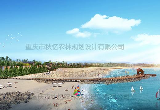 广东湛江硇洲岛黑古滩生态旅游度假园项目
