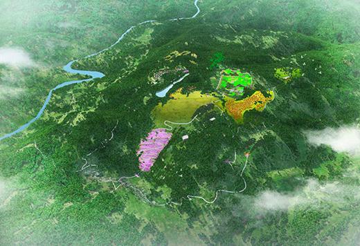 贵州绥阳县有机梅花鹿大观园现代农业园规划