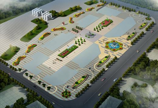 开县未来国际项目景观设计