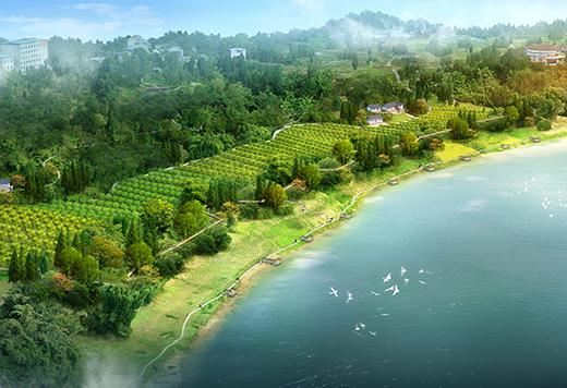 广安一江半岛康养农业园