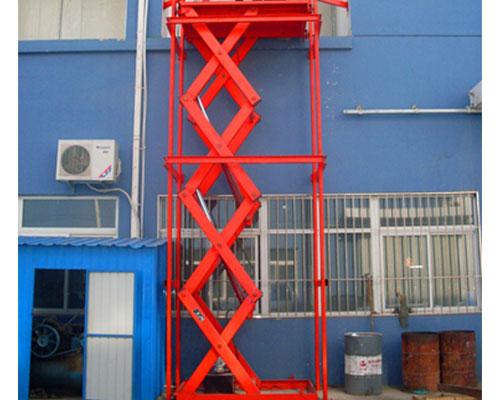 固定剪叉式升降货梯