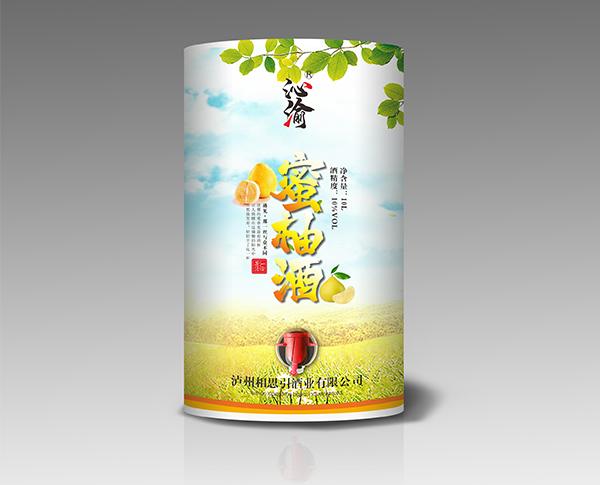 蜜柚酒( 纸桶装)