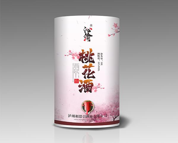 桃花酒(纸桶装)