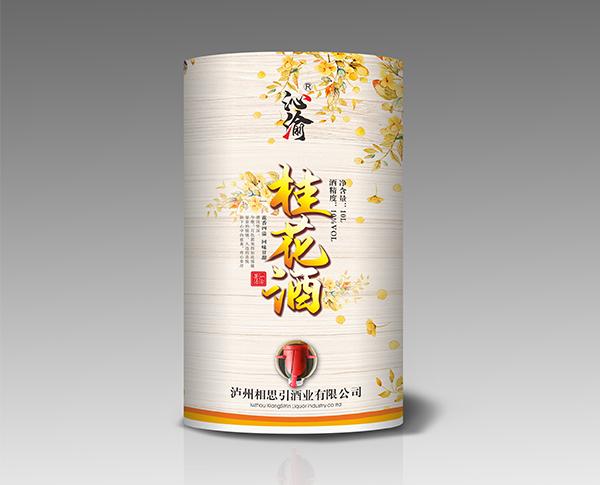 桂花酒(纸桶装)